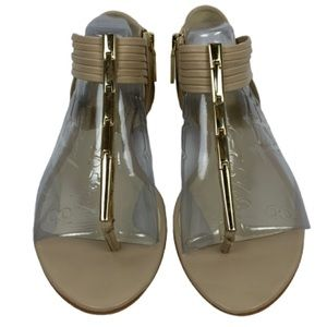 Dolce Vita Amala Sandal in Nude Leather